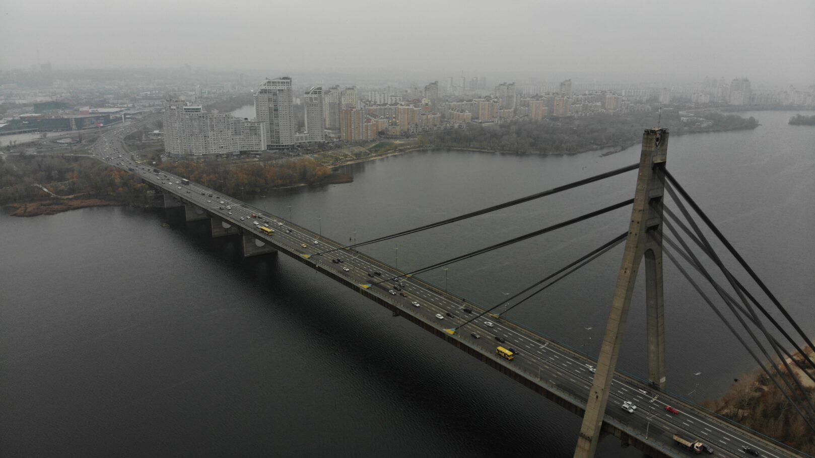мост с левого берега на правый